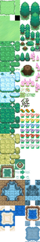 BW Citrine Tileset: Resized by chimcharsfireworkd