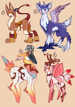Adoptables #6 [OPEN] by YesItsComplicated