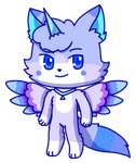 Chibi commission: Cosmic by to-much-a-thing