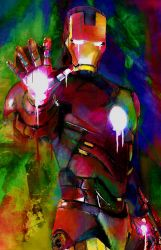 Iron Man (Heroes) by j2Artist