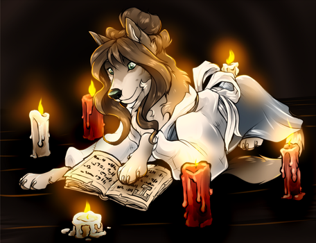 Candlelight by Hukkahurja