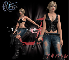 Parasite Eve The 3rd Birthday Aya Brea by SSPD077 by SSPD077