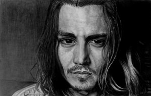 Johnny Depp by SophieReddyArt