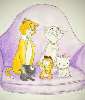 Aristocats? by wrexjapan