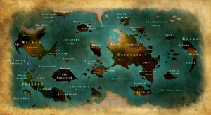 The World of Mirothem by Skaynoodle