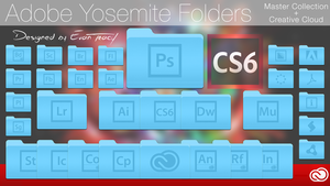 Adobe Yosemite Folders by TraceDesign