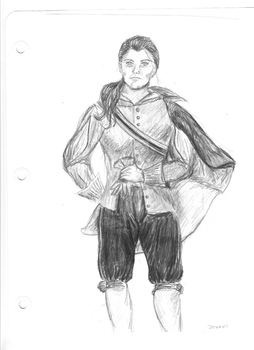 Character sketch:  Zerrick Dhur by judygoodwin
