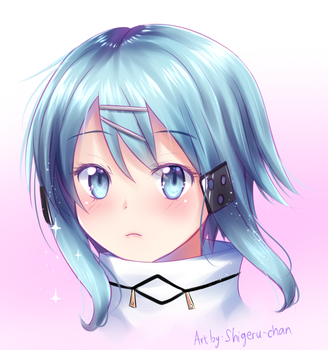 Headshot Shinon by shigeru-chan