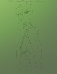 Murdoc Niccals by marriedtothemoon