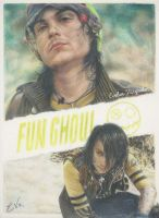 Frank Iero - Fun Ghoul (Drawing) by Tokiiolicious