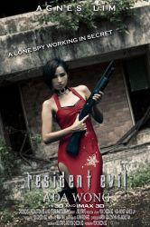 Resident Evil: ADA WONG (Movie Poster Version) by SgStrife
