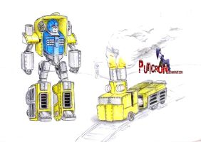 transformers : hearts of steel huffer by puticron