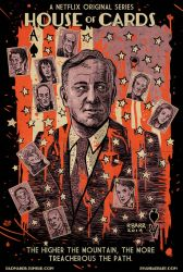 House of Cards poster by RADMANRB