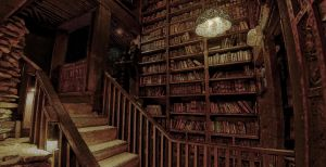 Library Attic by ParsueChoi