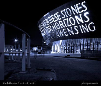 the Millenium Centre, Cardiff. by JakeSpain