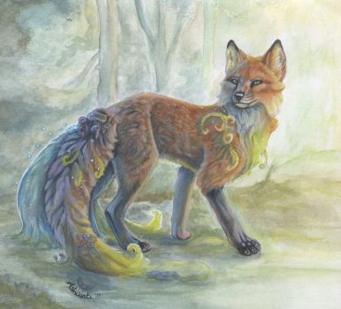 Forest Guardian by A-shanti