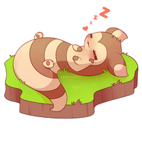 COMMISSION: Chibi Furret by SeviYummy