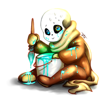 Ink!Sans : The Face of 'Innocence' by BelieveTheHorror