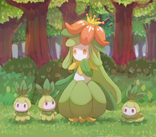 lilligant and petilils
