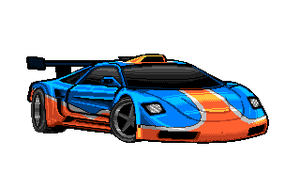 Gulf Oil Supercar by Rhopunzel