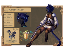 CT: Ahmeh'to Koiri by AealZX