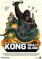 Kong Skull Island Posterspy.com Contest Poster by Zetroczilla