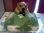 groundhog cake by greeneyes3675