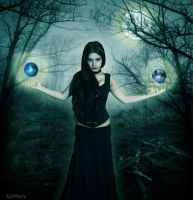 The Sorceress by katmary