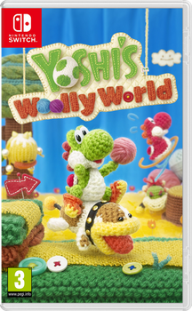 Yoshi's Woolly World Switch Cover by Alex13Art