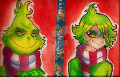 YOU'RE A MEAN ONE, MR. GRINCH by Pilulu