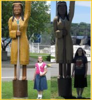 Me With The Indian Lady Then And Now by Daddys-Girl1997