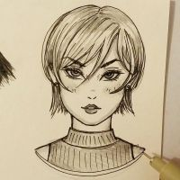 Quick sketch 08 by LeSallyChat