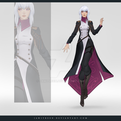 (CLOSED) Adoptable Outfit Auction 252 by JawitReen
