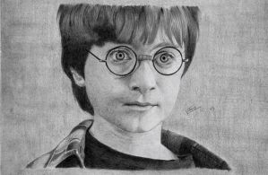 Young Harry by violet2424