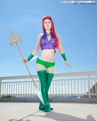 Superhero Ariel by ctrlaltvamp