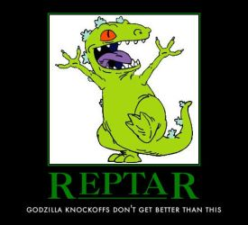 Reptar by AwesomenessDK