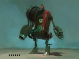 Fallout 3 Gasbot by vermaden