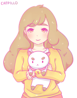 Bee and Puppycat by catpillo