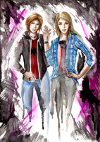 LIFE IS STRANGE - BEFORE THE STORM by Reikii-7