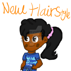 New Hairstyle by Daracoon911