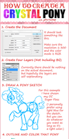 How to Create a Crystal Pony (Tutorial) by KimikoNyanChan