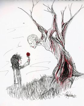 The desire of the tree by charly-resvil