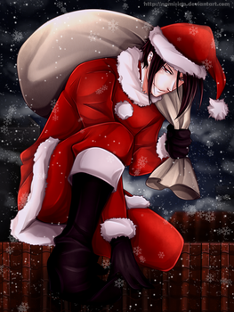 One hell of a Santa by namisiaa
