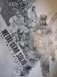 Metal Gear Solid: The Twin Snakes by FruitPunchSamurai13