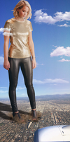 Giantess Jennifer Lawrence by dochamps