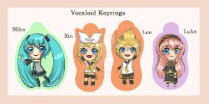 Keyrings 1 by Chao-Illustrations