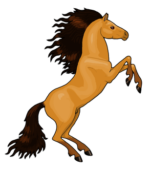 Horse Clipart by MisterBug