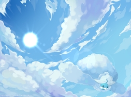 Mega Altaria : Endless Skies