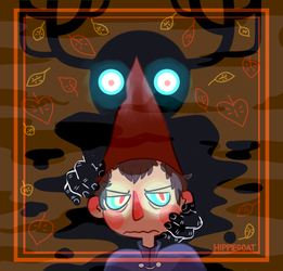Over the Garden Wall by GoatKidCryptid
