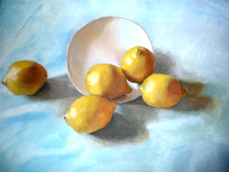 Lemons and Bowls by fragments-of-a-dream